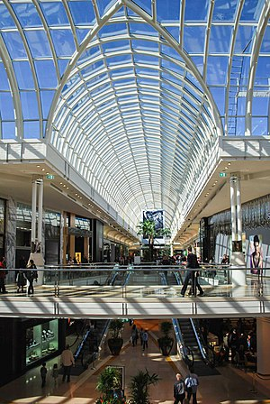 Chadstone Shopping Centre - The completed section of the 2007-2009 extension.