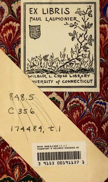 File:Chamfort - Œuvres choisies, éd. Lescure, I.djvu