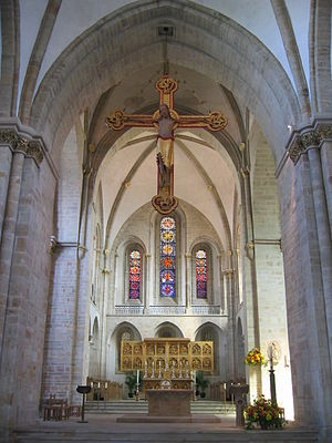 St. Peter's Cathedral (Osnabrück) - Image: Chancel of Cathedral Osnabrueck