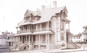Charles Drayton House - When photographed by George LaGrange Cook in about 1890, the house had not yet been stuccoed.