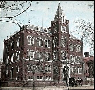 Charles Sumner School - Charles Sumner School, c. 1890
