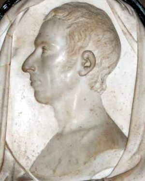 Charles Wolfe - Bas-relief in St. Patrick's Cathedral, Dublin