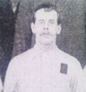 Charlie Howlett - Charlie Howlett from a squad photo circa 1891
