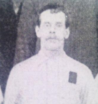 Charlie Howlett - Charlie Howlett from a squad photo circa 1891