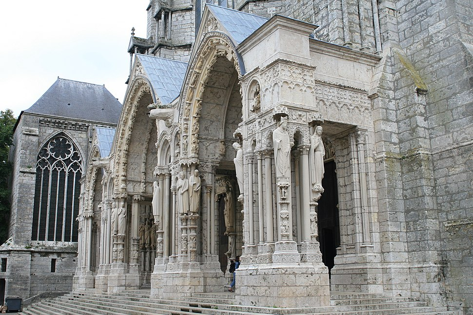 Chartres Cathedral North Porch NW 2007 08 31