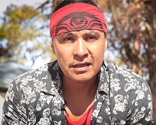 activist and attorney from the Standing Rock Sioux Tribe