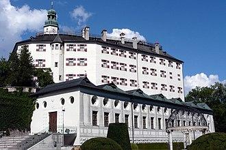 Ambras Castle - Ambras Castle in Innsbruck, Austria