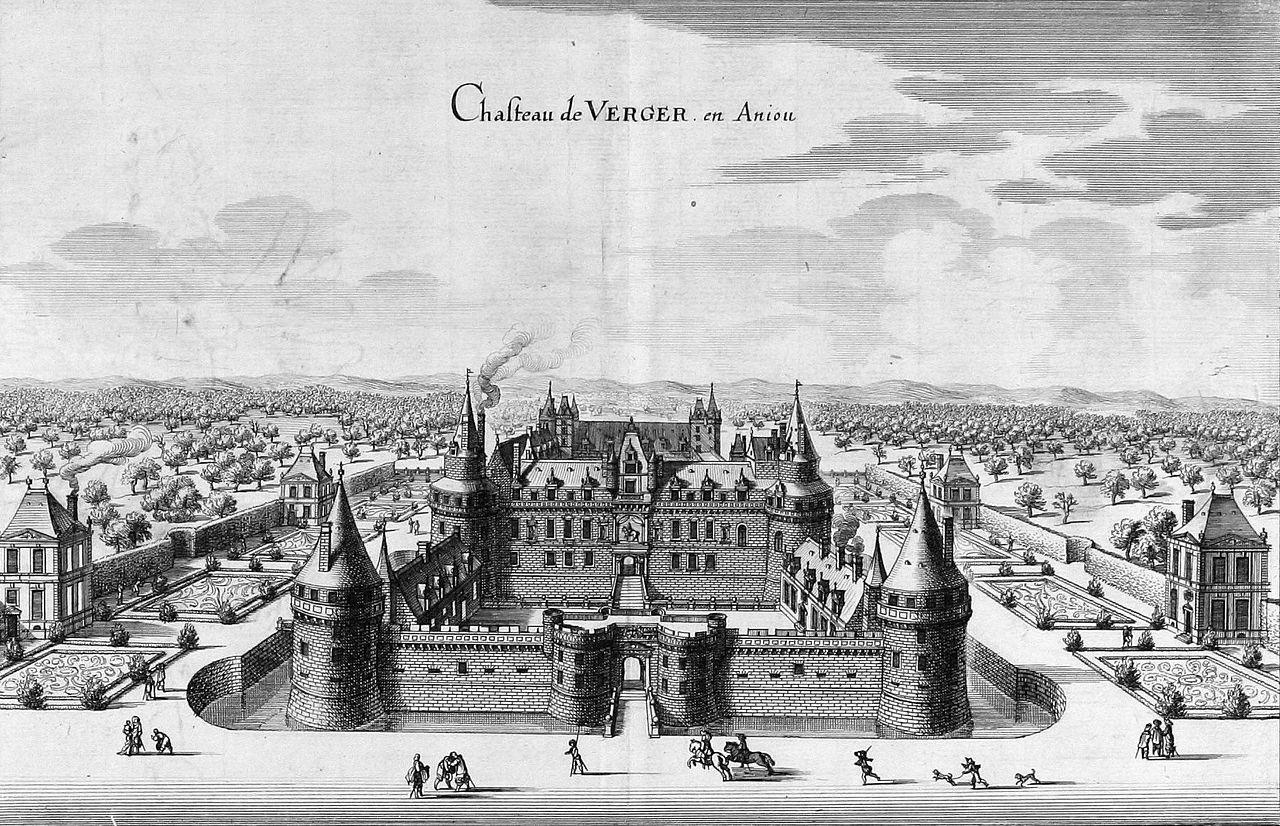 Fichier:Chateau du Verger Merian 1657.jpg — Wikipédia