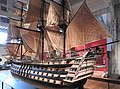 Chatham Historic Dockyard Victory model 5677.JPG