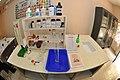 Chemistry Worktable - Science Cultivation Centre - Swami Akhandananda Science Centre - Ramakrishna Mission Ashrama - Sargachi - Murshidabad 2014-11-29 0264.JPG