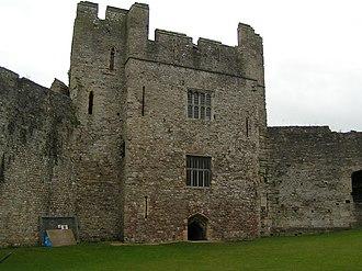 Henry Marten (regicide) - Marten's Tower, his apartments within Chepstow Castle