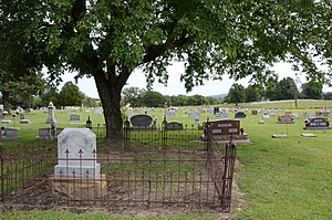 National Register of Historic Places listings in Muskogee County, Oklahoma - Image: Cherokee National Cemetery