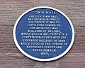 Chester Town Hall Blue Plaque - geograph.org.uk - 367647.jpg