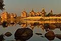 Chhatris (Cenotaphs) on the bank of Betwa River, Orcha, Madhya Pradesh.jpg