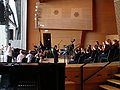 Chicago Children's Choir backstage at Jay Pritzker Pavilion.jpg