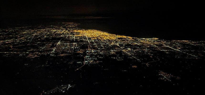 La ligne d'horizon de Chicago