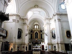 San Marco in San Girolamo - Interior view: the nave