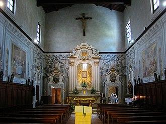Santi Jacopo e Filippo (Pisa) - Image: Chiesa dei Santi Iacopo e Filippo Inside
