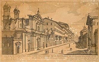San Giacomo degli Incurabili - Image: Chiesa di s. giacomo