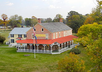Chimney Point, Vermont - The historic tavern at Chimney Point