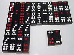 casino game with 32 chinese dominoes
