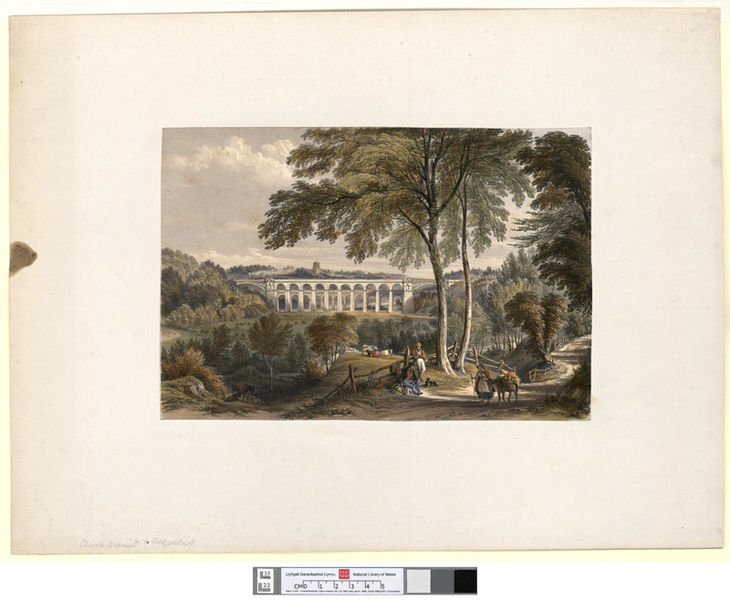 File:Chirk Viaduct - Shrewsbury & Chester Railway.jpeg