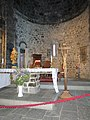 Choir of the church Santa Margherita (Vernazza).jpg