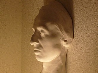 Health of Frédéric Chopin - Image: Chopin death mask, side view (collection of Jack Gibbons)