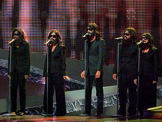 Divine (Sébastien Tellier song) - Backup singers for Sébastien Tellier, at the Eurovision song contest 2008