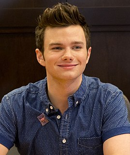 Chris Colfer American actor, singer, and author