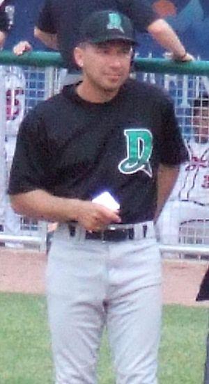 Chris Sabo - Chris Sabo in 2005 as a coach for the Dayton Dragons