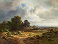 Christian Morgenstern - Weite Landschaft mit Schafherde.jpg