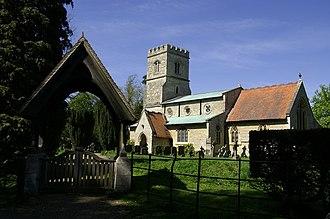 Addington, Buckinghamshire - Image: Church of St Mary the Virgin, Addington, Bucks geograph.org.uk 405814