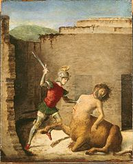 Thésée tuant le Minotaure