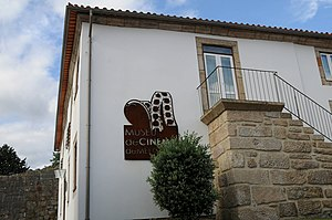 Melgaço Museum of Cinema - The staircase and access to the cinema museum