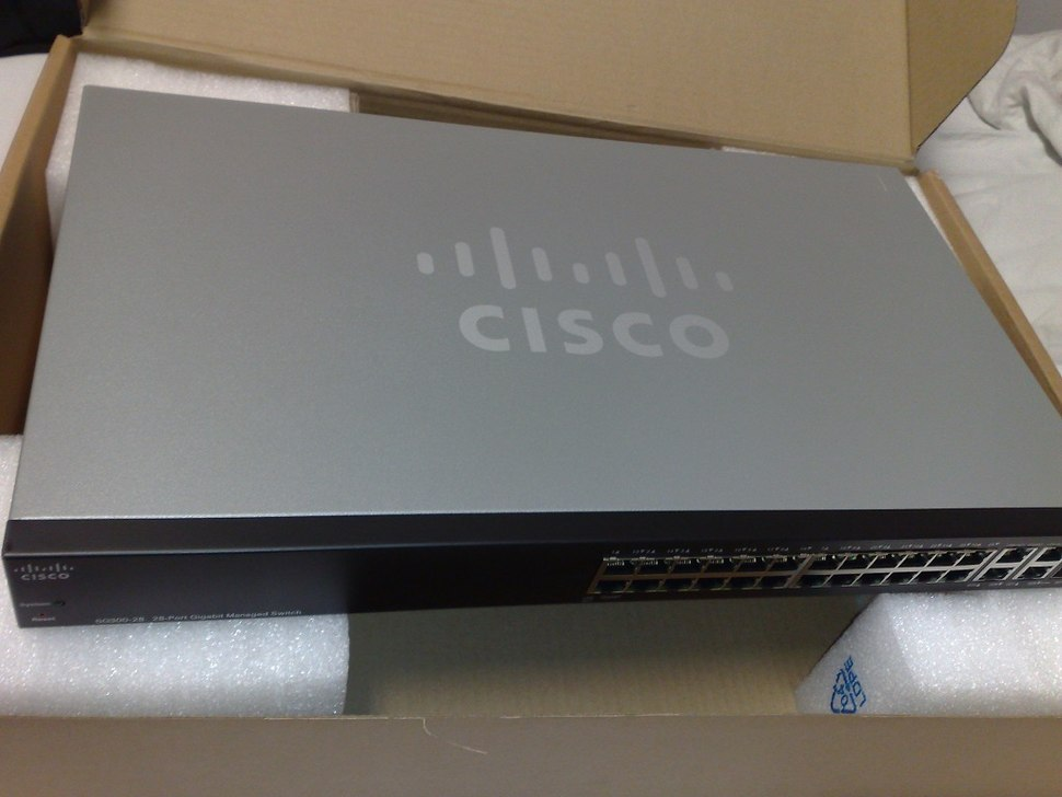 Cisco small business SG300-28 28-port Gigabit Ethernet rackmount switch