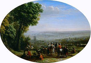 Siège de La Rochelle par Louis XIII