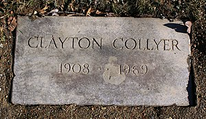 Bud Collyer - His footstone