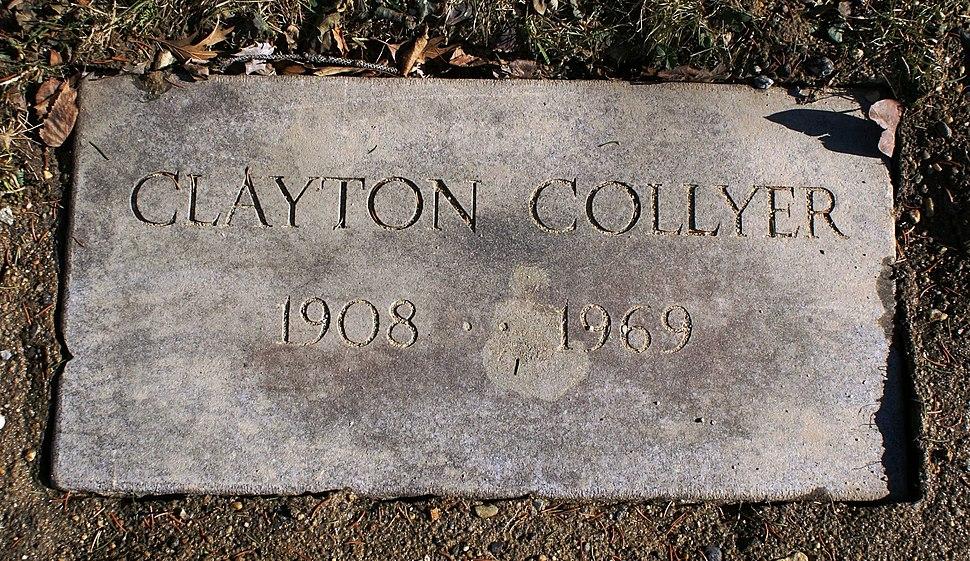 Clayton Collyer footstone 800