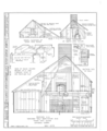 Clement Weaver House, 125 Howland Road, East Greenwich, Kent County, RI HABS RI,2-GREWIE,1- (sheet 4 of 9).png