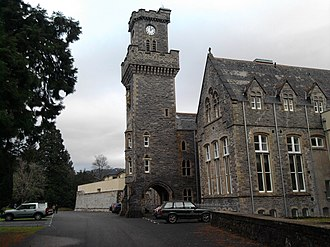 Fort Augustus Abbey - Clock tower