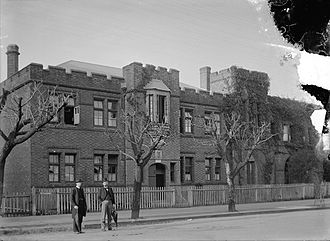 History of Perth, Western Australia - The Cloisters on St George's Terrace in 1900