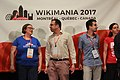Closing ceremony Wikimania 2017 IMG 5652.JPG