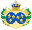 CoA of Marie-Thérèse of France.png