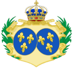 Description de l'image CoA of Marie-Thérèse of France.png.