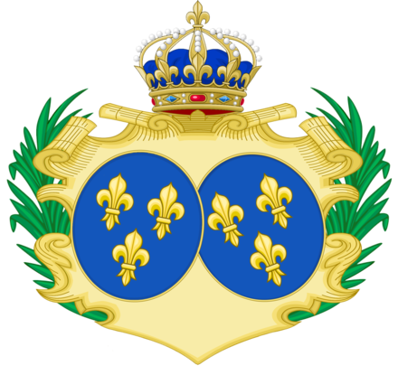 Coat of arms of Marie Therese of France CoA of Marie-Therese of France.png