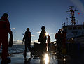 Coast Guard Cutter Bristol Bay crew conducts man overboard drills 141023-G-VH840-067.jpg