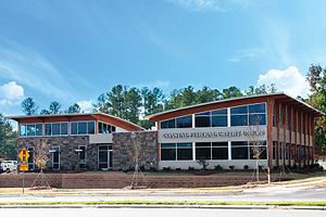 Credit union - A branch of the Coastal Federal Credit Union in Raleigh, North Carolina