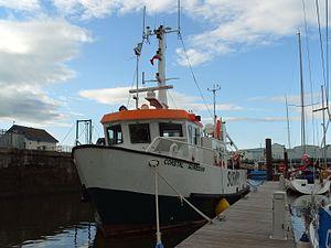 Abels Shipbuilders - Coastal Guardian in Fleetwood, 2008.