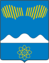 Coat of Arms of Polyarnye Zori (Murmansk oblast) (1995).png